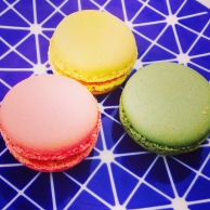 Beautifully Colored Macaroons