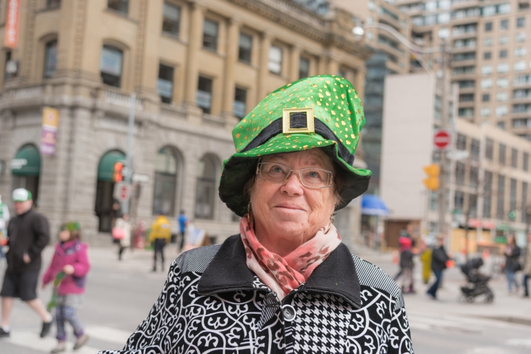 Canada Toronto St Patrick's Day Parade leprechaun hat