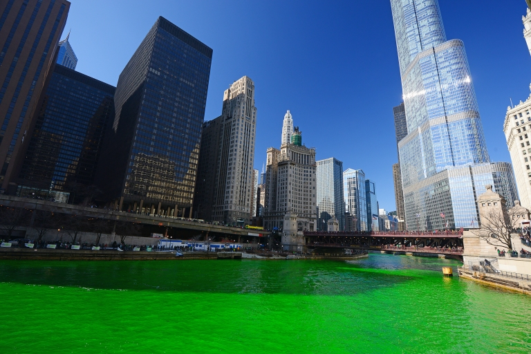 Chicago-St Patricks Day green river