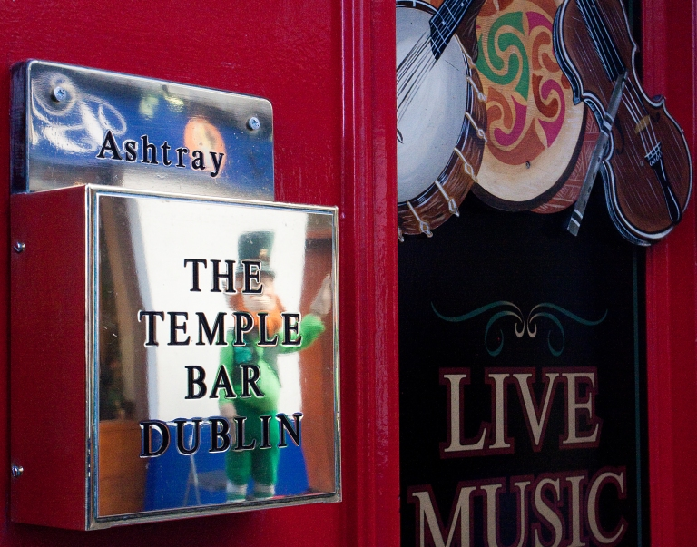 Ireland Dublin The Temple Bar