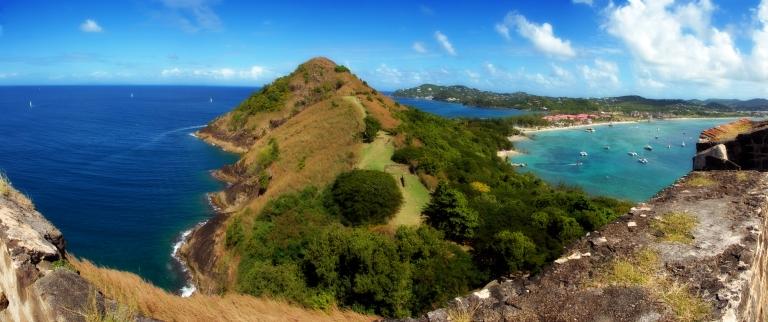 Caribbean-St Lucia-Panoramic