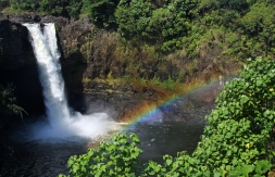 Hawaii-Hilo-Rainbow Falls- Rainbow-2
