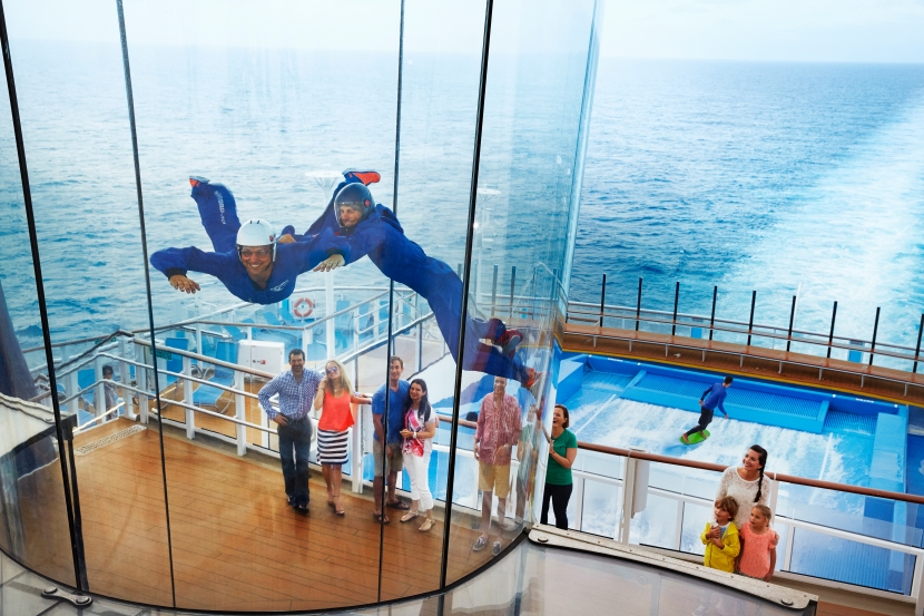 Coolest Cruise Features at Sea