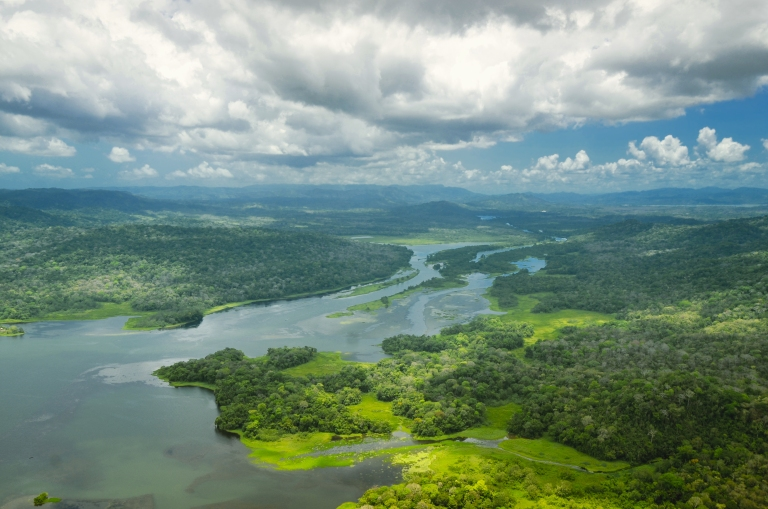 panama-canal-aerial-view-jungle-green