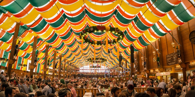 Germany-Munich-Oktoberfest-Dining-Hall