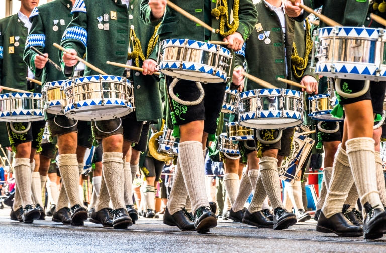 Germany-Munich-Oktoberfest-Parade