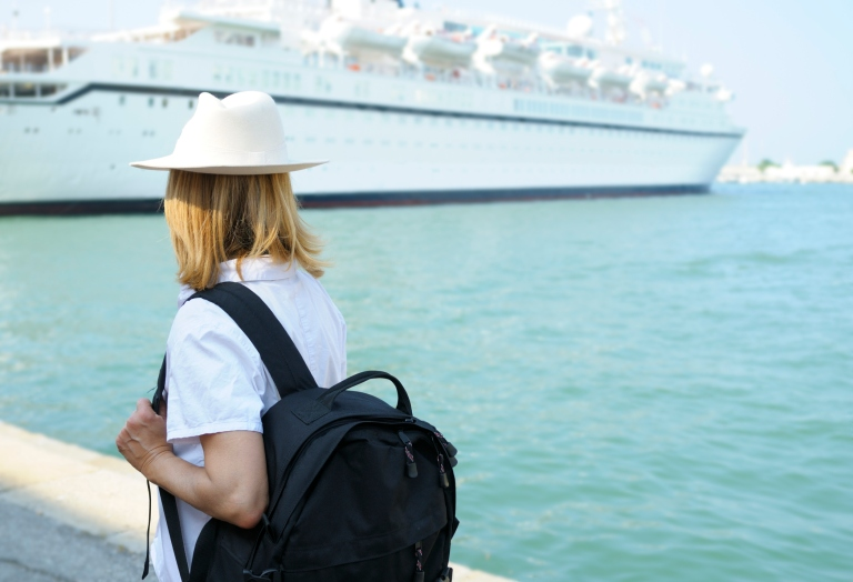 Spending your tax return on a spontaneous cruise